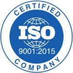 Logo della certificazione ISO 9001:2015