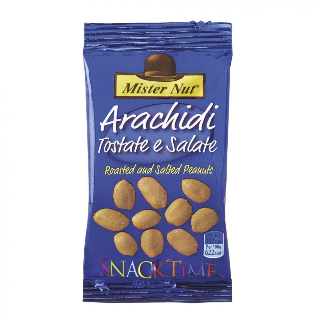 arachidi tostate Mister Nut